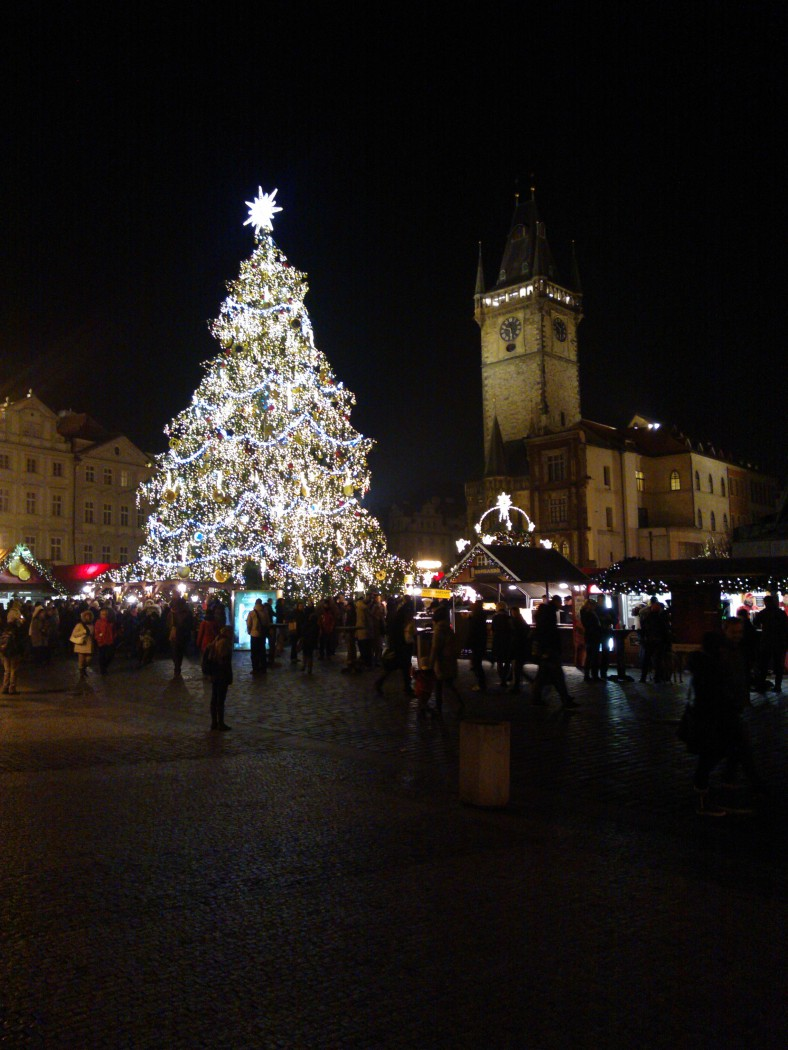 Prague Christmas Tree, Old Town Square, 2013