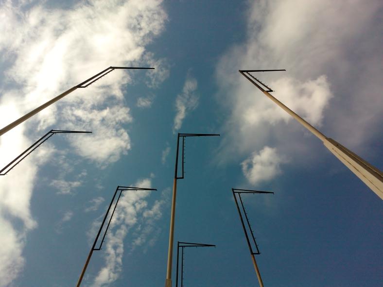 Beaky Flagpoles