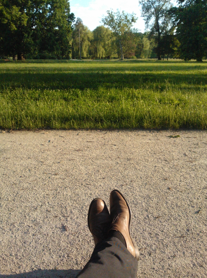 Chillaxing in the Park
